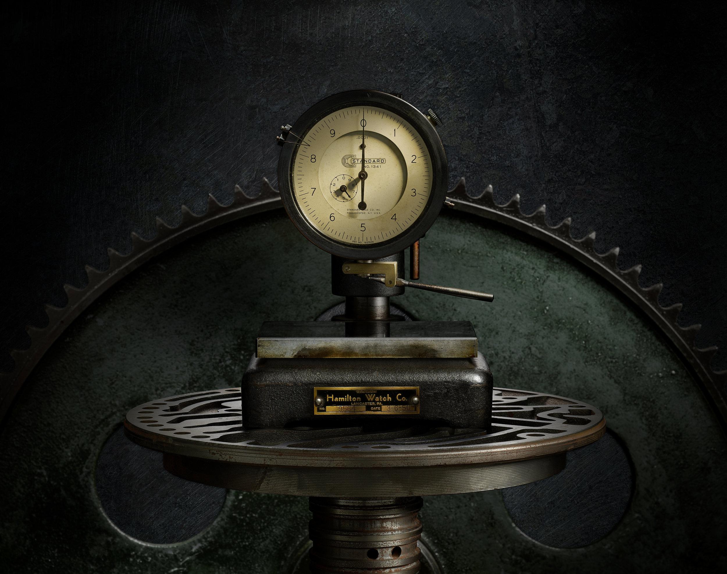 Hamilton Watch Dial Indicator (Copyright 2018, Jason Nicholas)