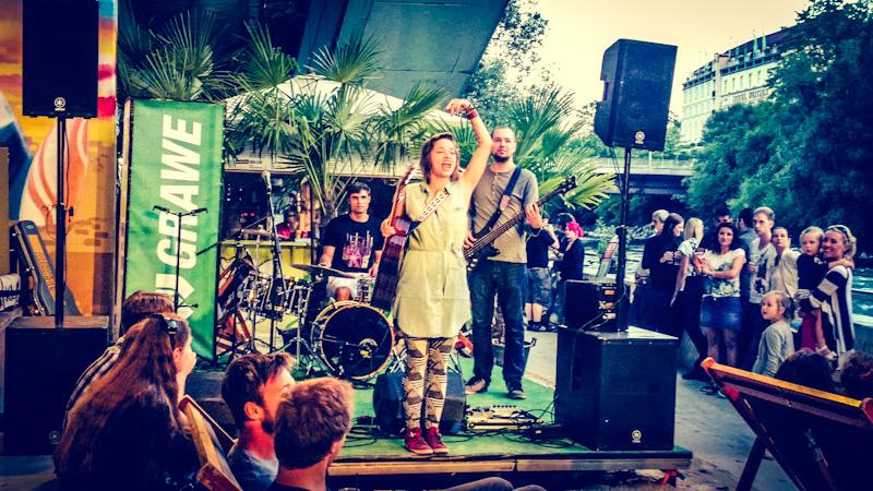 Auf's Foto klicken für mehr von unserm letzten Auftritt bei CityBeach