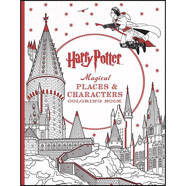 Harry Potter Colouring book - Warner Bros