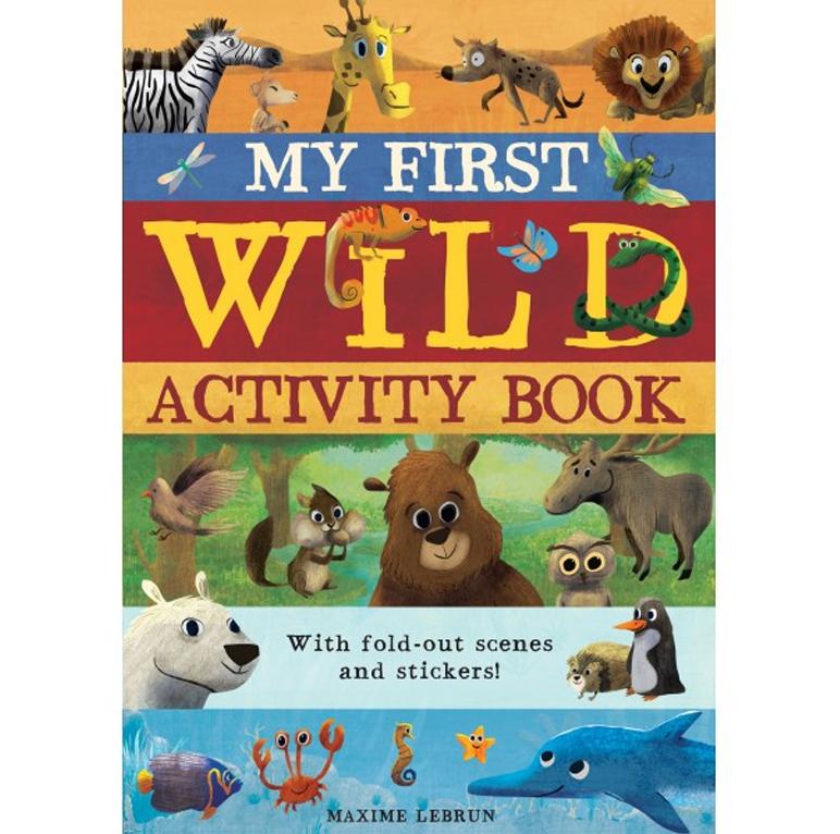 My first wild activity book-Caterpillar Books