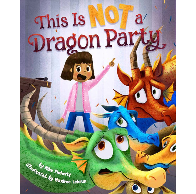 This is Not a dragon party - Sterling Publishing