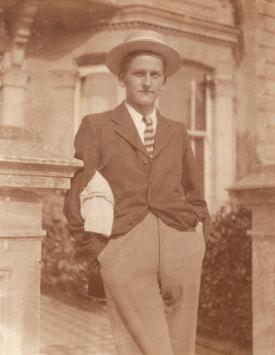 Noel Carrington at Christchurch College, 1914