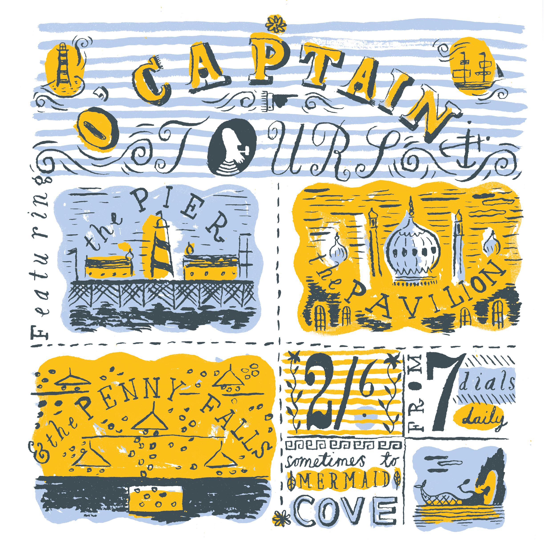 Captain's Alphabet by Jonny Hannah
