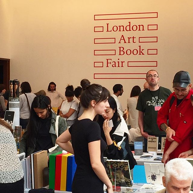 London Art Book Fair Busy time here today & on tomorrow too at The Whitechapel Gallery. So many tempting books that you won't find on the high street, or in some cases never again, as the editions can be small. @whitechapelgallery #books