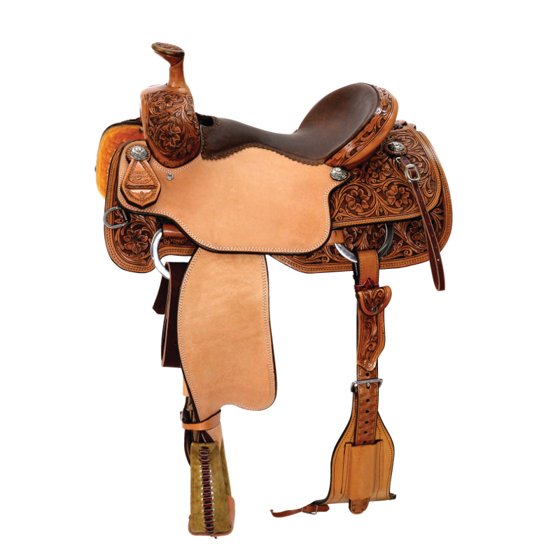 Reinsman - Reinsman Equestrian stands as the elite brand in Performance saddles – all saddles are hand made and fully customizable with top of the line features to create the highest quality product. Founded in 1993, Reinsman offers a complete line of handmade bits to start your horse, enhance performance, and finish your bridle horse. Saddle pads range from the best basic pad available, to exceed high performance demands, and pads that solve every conformation issue.