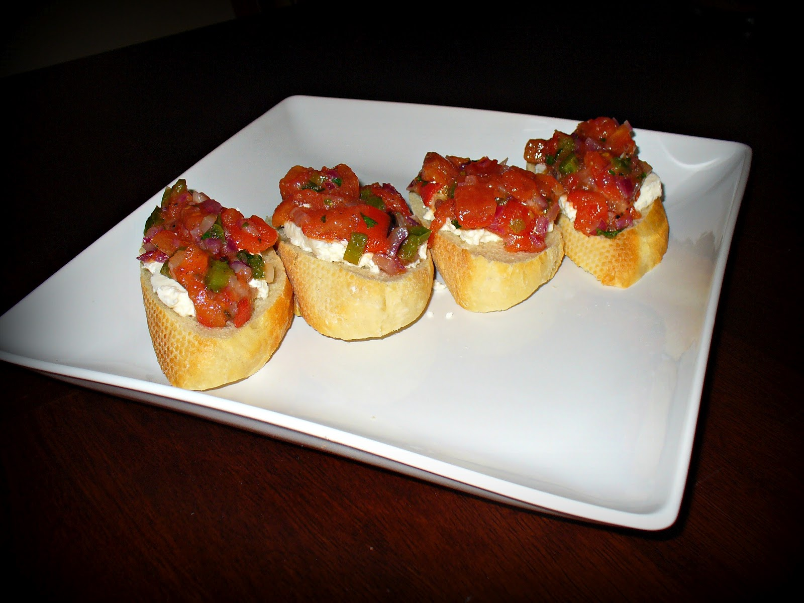 Charred Cajun Bruschetta