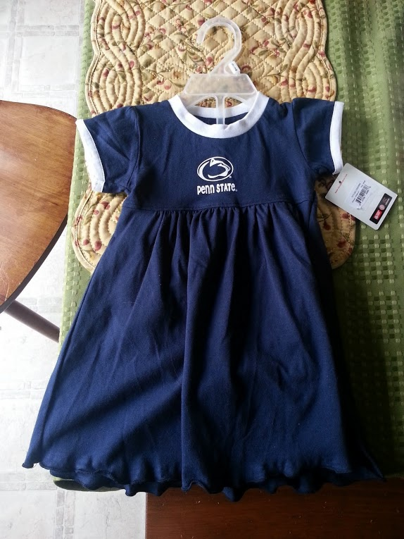 She's a Penn State girl and she needed a dress showing off her pride!