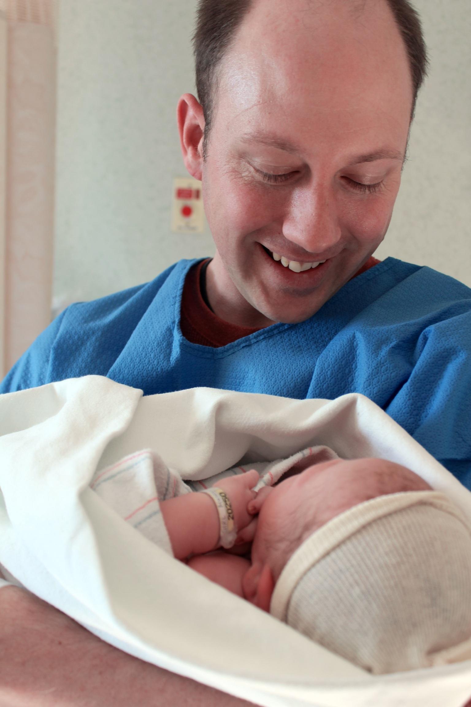 Happy birth in Western MA