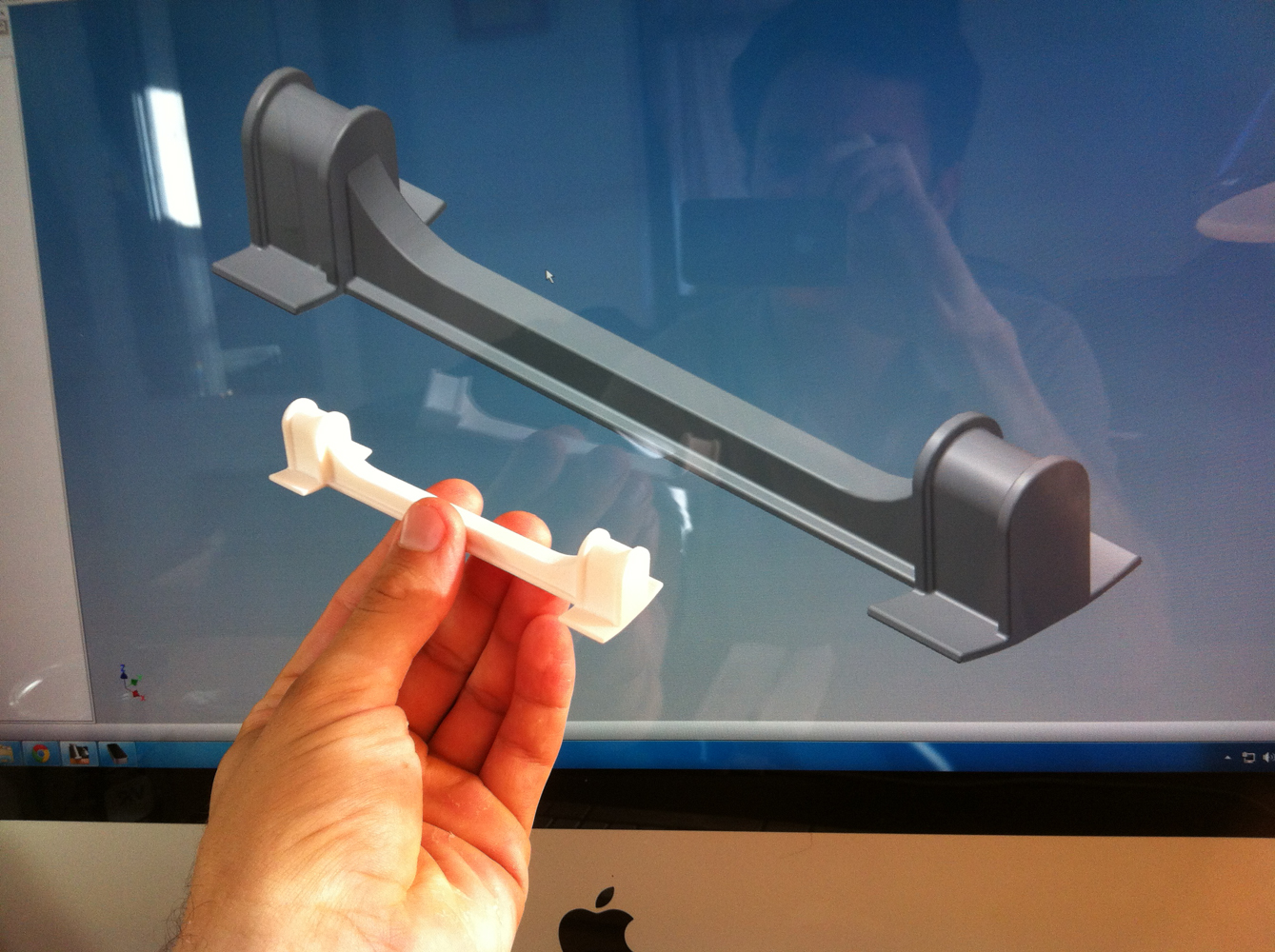 Inventor and Shapeways.
