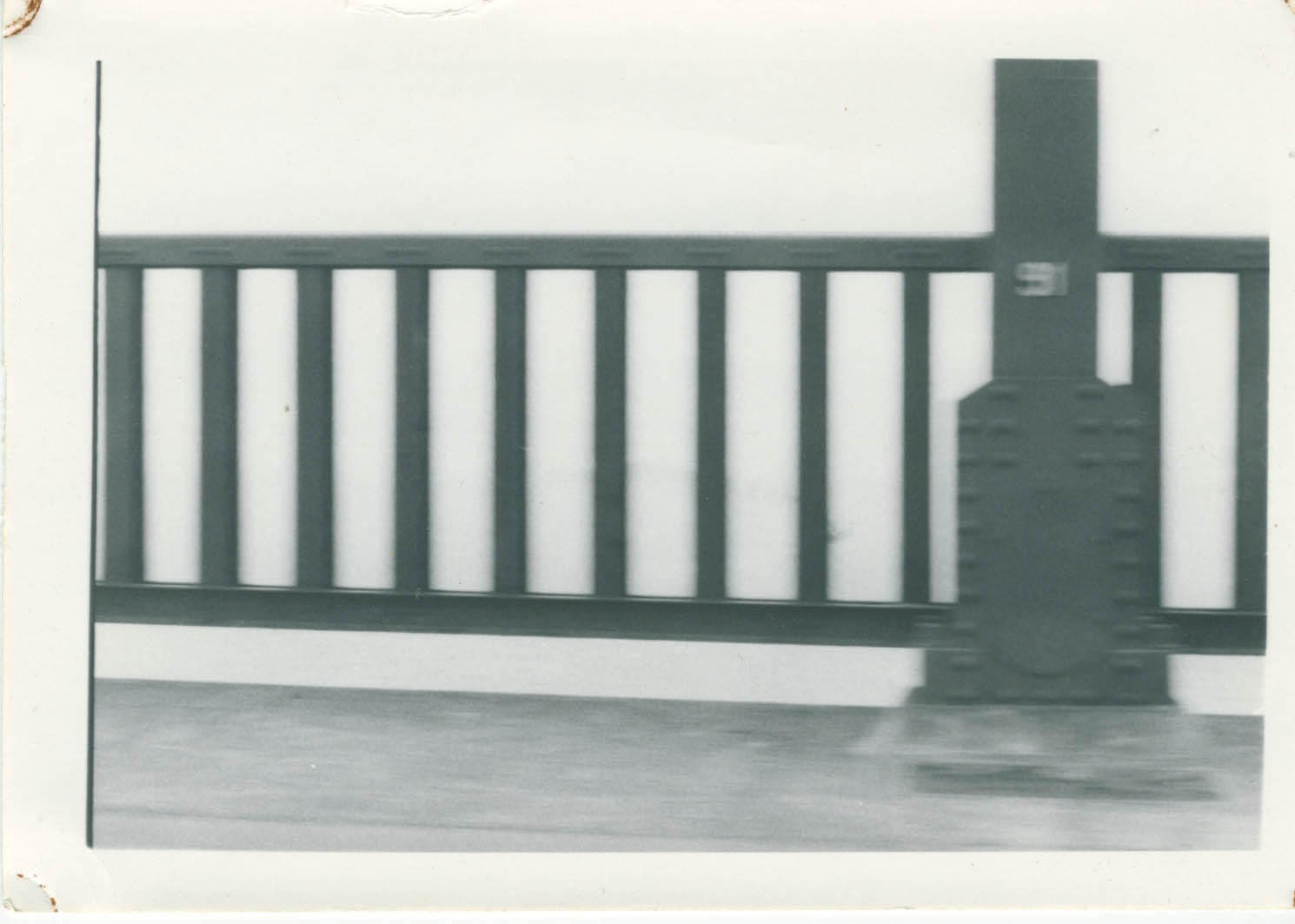 This photograph, of the Golden Gate Bridge, was taken by my parents sometime in 1976-1977.