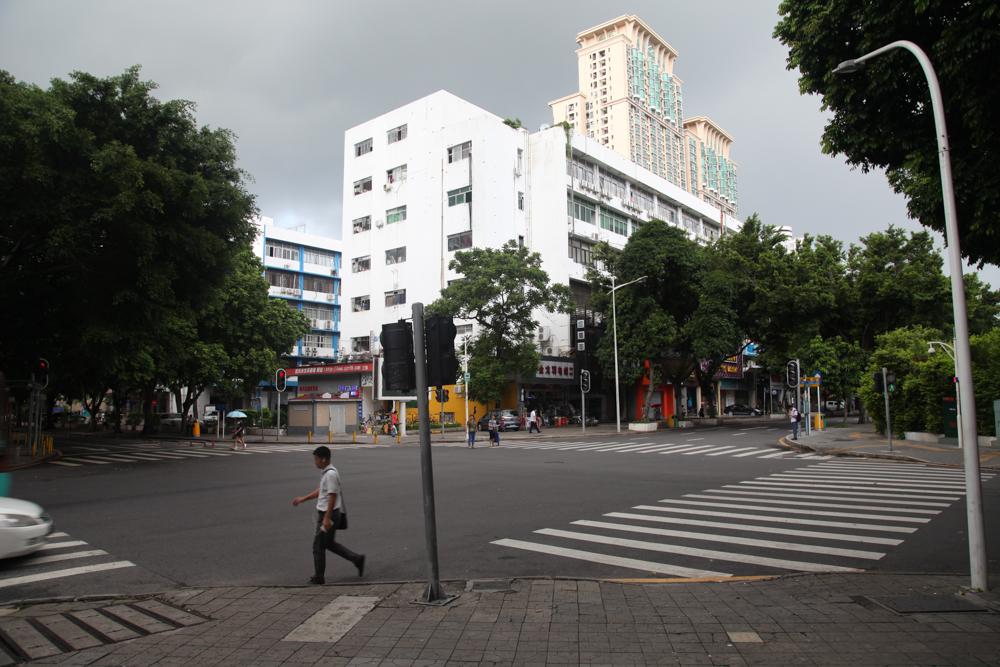 A random corner in Shenzhen
