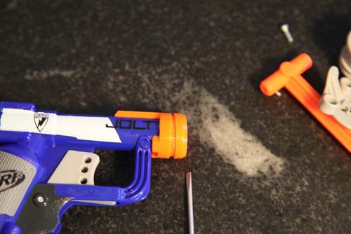 Teardown: Nerf N-Strike Jolt Blaster — spencer wright on