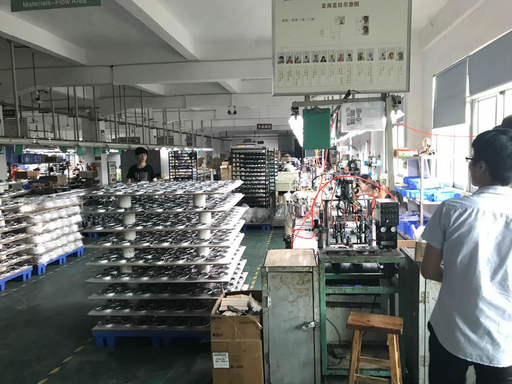 Speaker assembly line