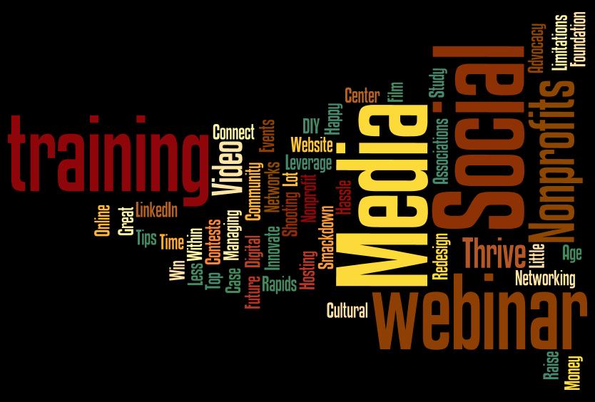 Wordle on social media training