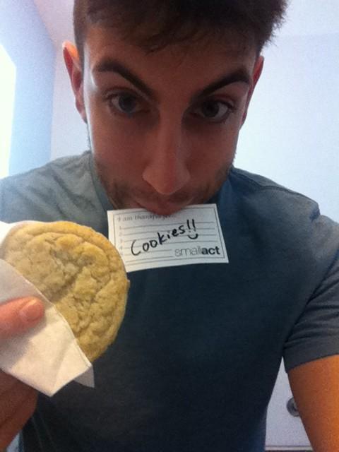 Gratitude for cookies