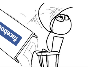 Facebook table flip