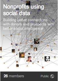 Nonprofits using social data