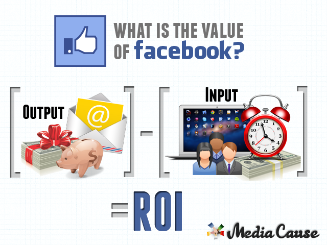 Media Cause Facebook fan worth