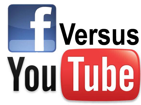 Facebook vs. YouTube