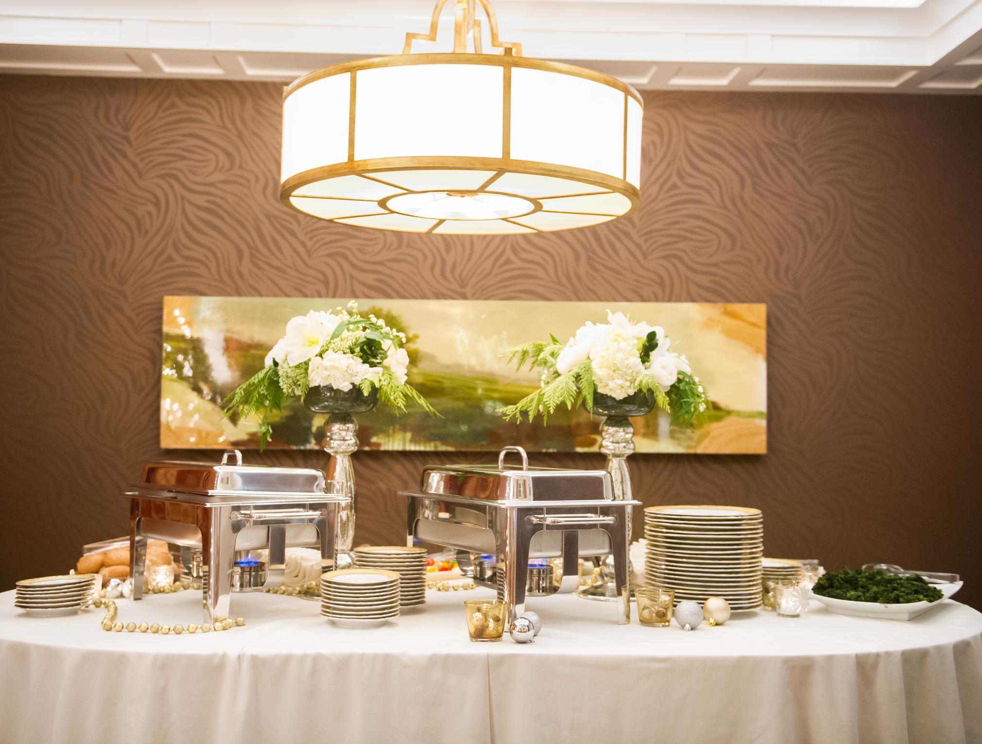 A beautiful buffet waits to be Devour-ed... Photo by  Kristi Sneddon  Photography