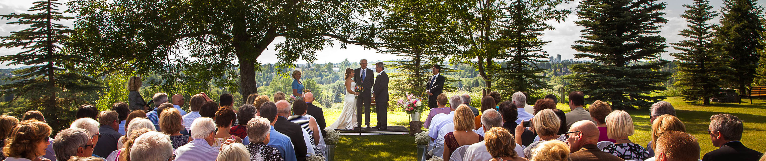 The ridge at the Southern Alberta Pioneer Lodge is a spectacular ceremony spot.