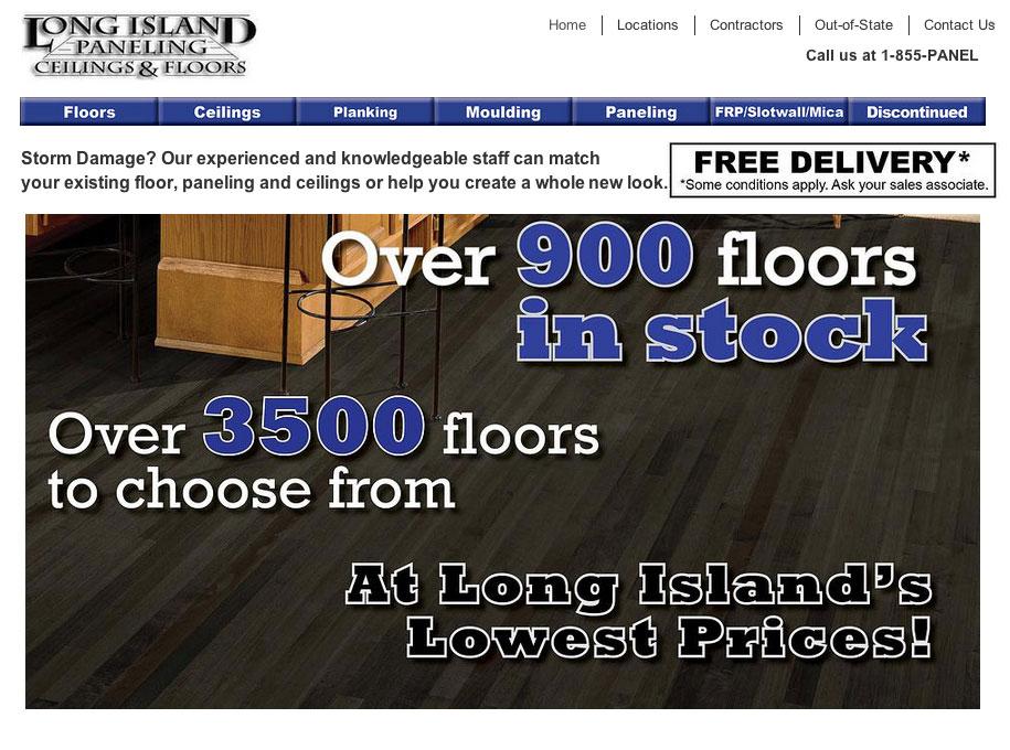 Long Island Paneling, Ceilings and Floors