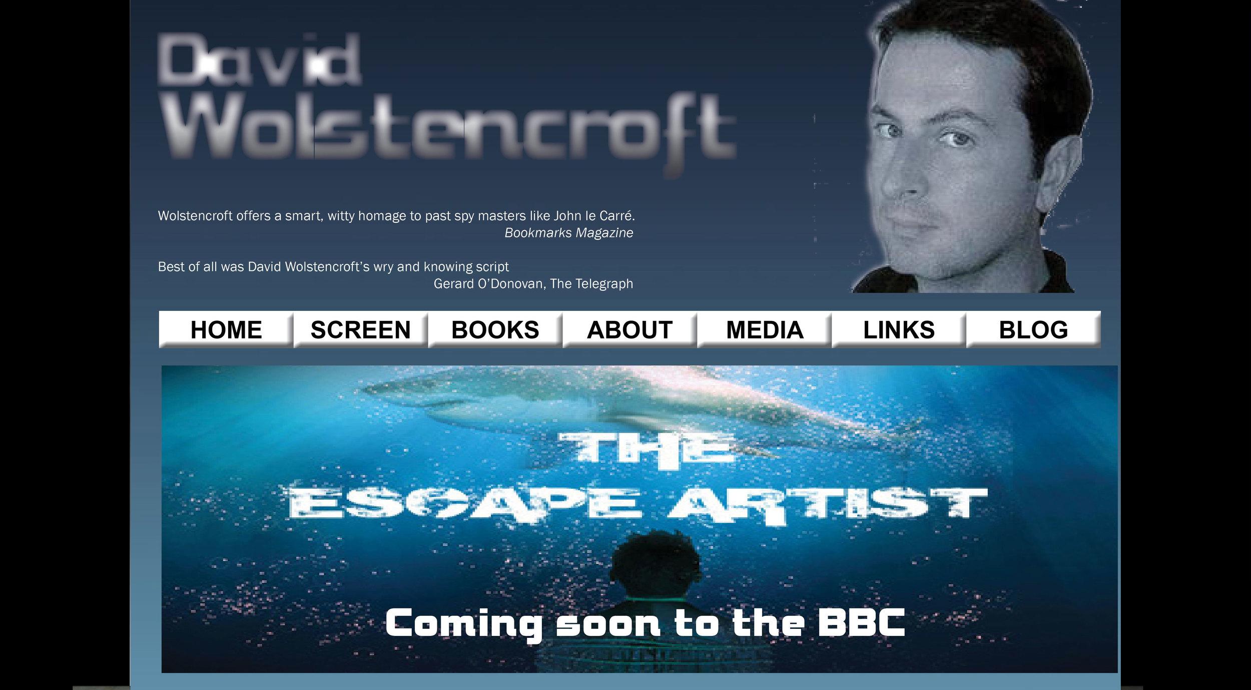 David Wolstencroft WordPress site