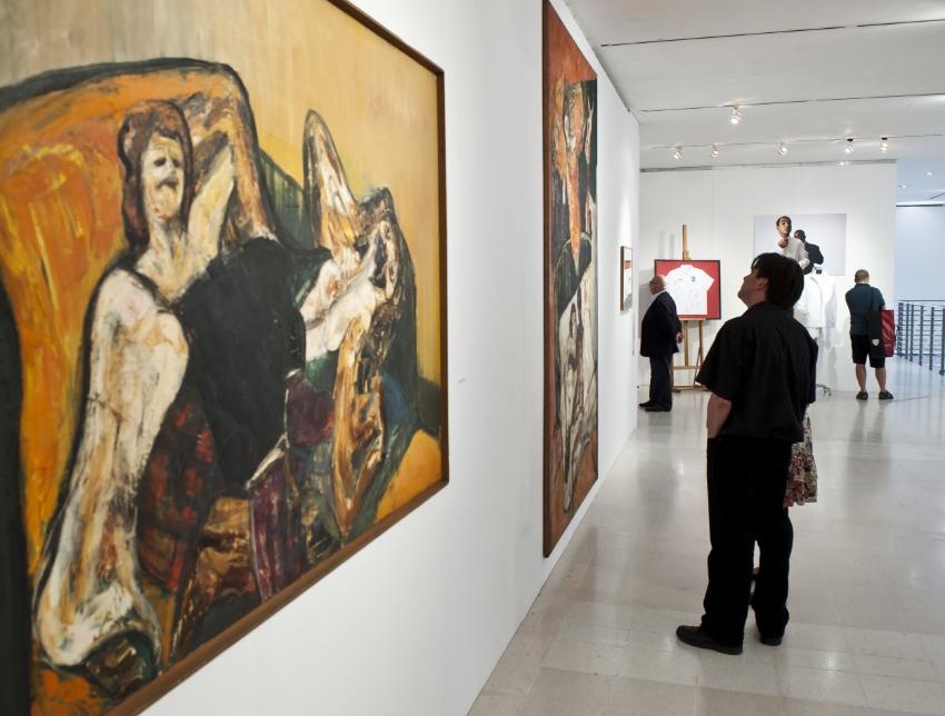 RCA Black Henry Moore Gallery