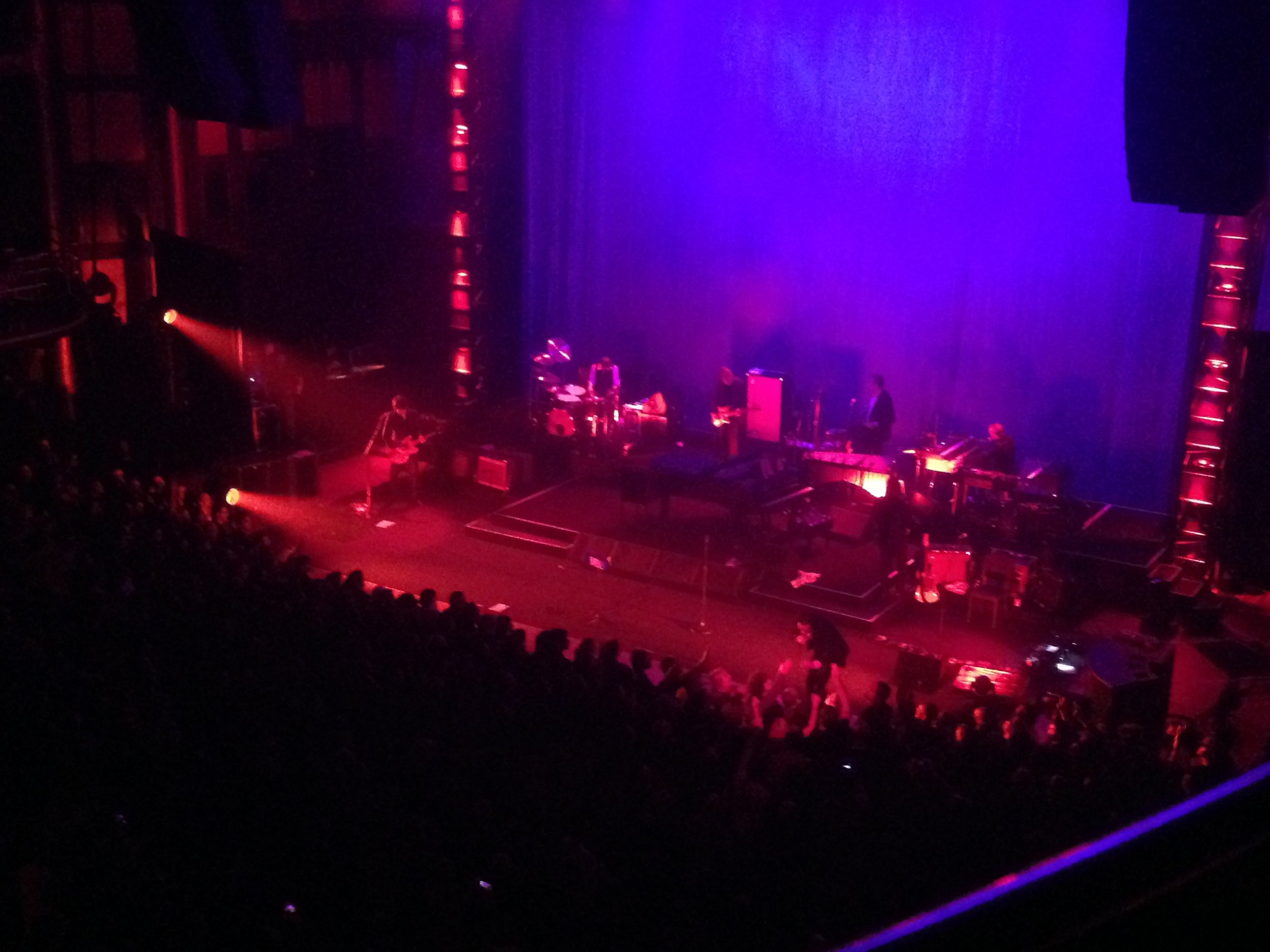 Here's a pic that I took during Red Right Hand. As you can see, I AM VERY FAR AWAY.