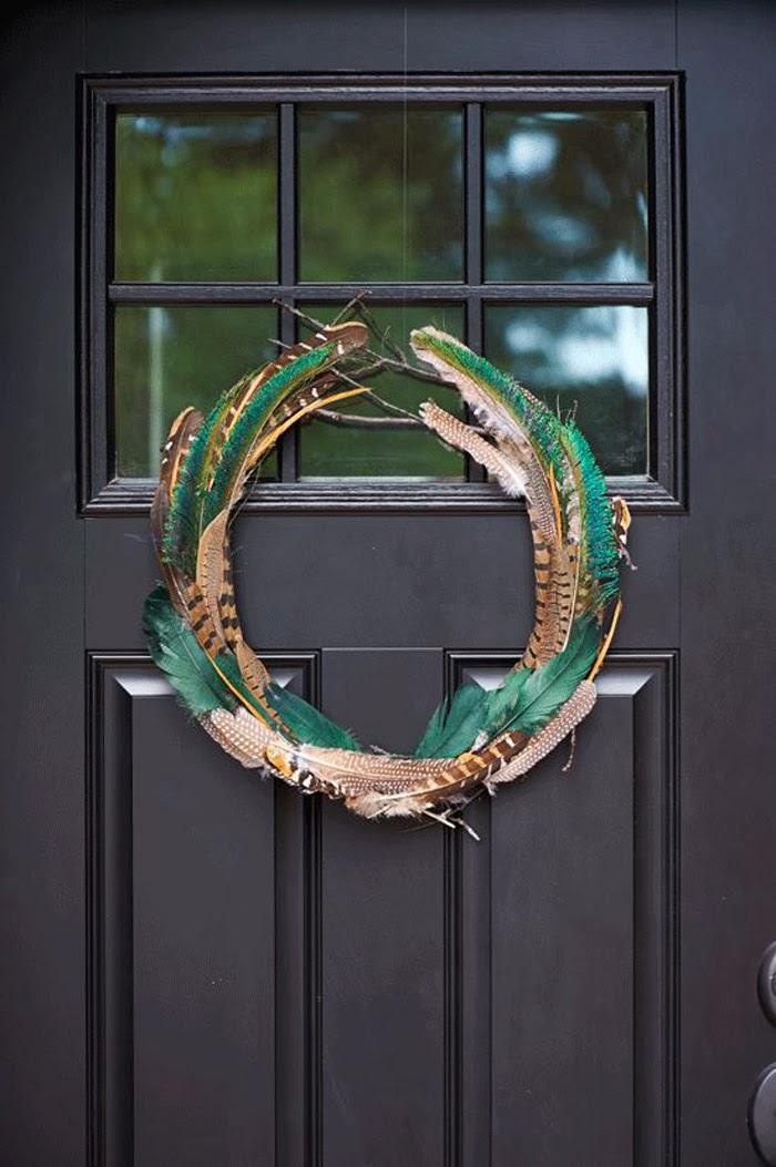 Wreath design for an editorial feature. (Design/build: Andrea Zadro, Direction: Emma Reddington, Chatelaine Magazine)