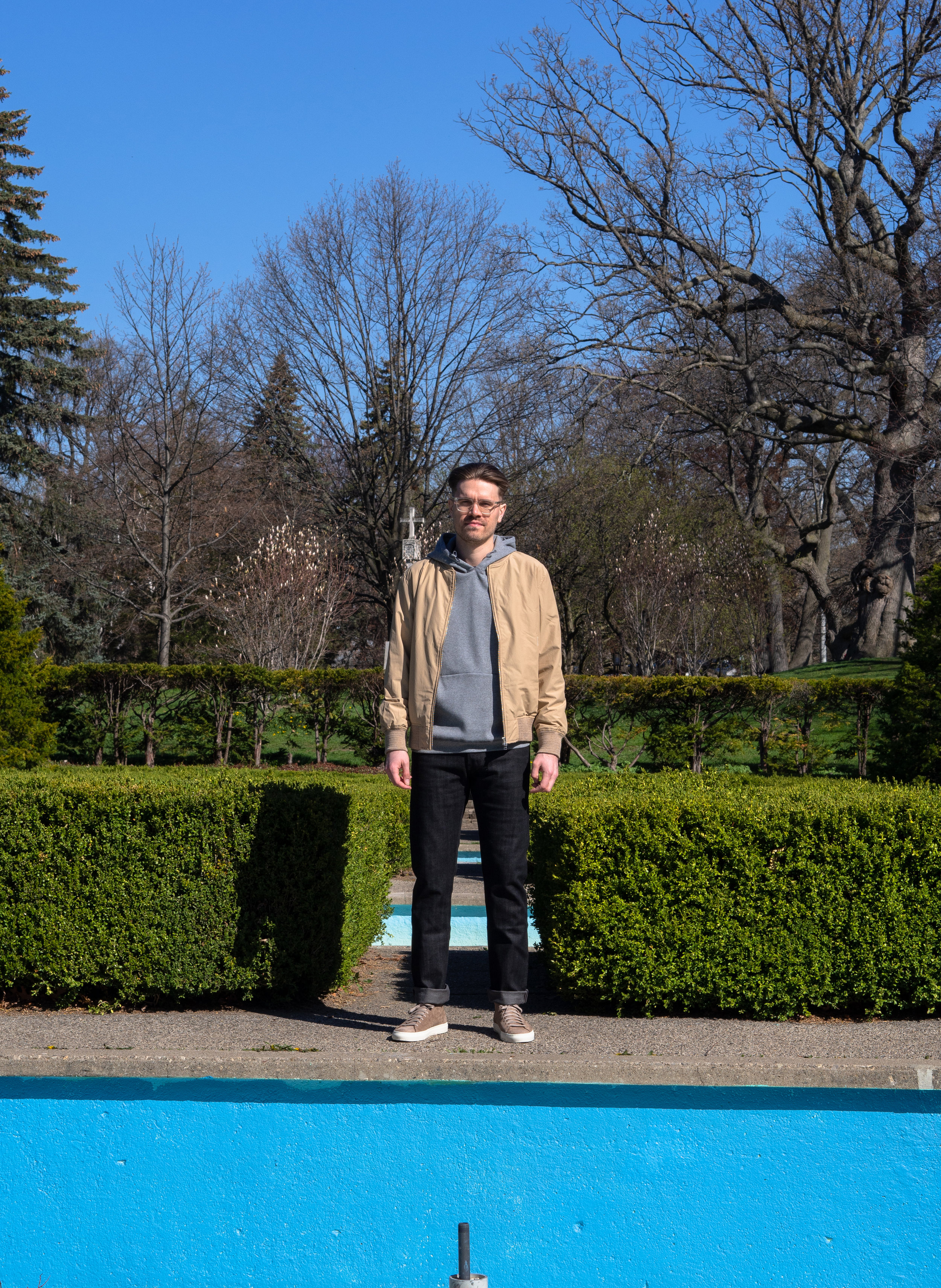 004    Outclass  Bomber     Reigning Champ  Hoodie     Naked & Famous  Denim     Diemme  Sneakers