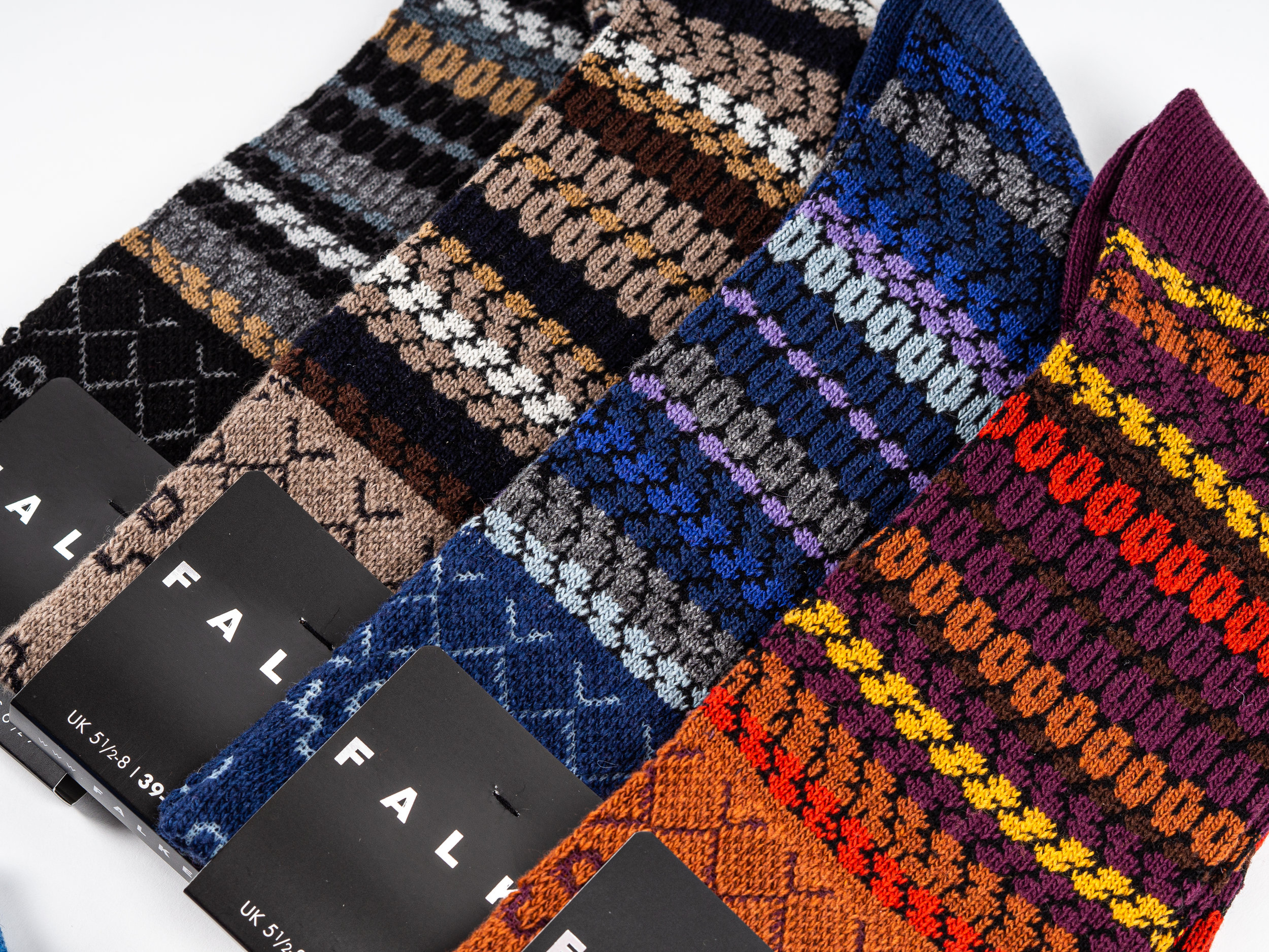 Falke Chunky Knit Socks - These socks are made with a luxurious blend of cashmere, wool, and viscose. They are thick, warm, and plush; perfect in winter boots or when lounging at home. They are anatomically fitted, with reinforced stress zones. Falke's Chunky Knit Socks are made in the EU.