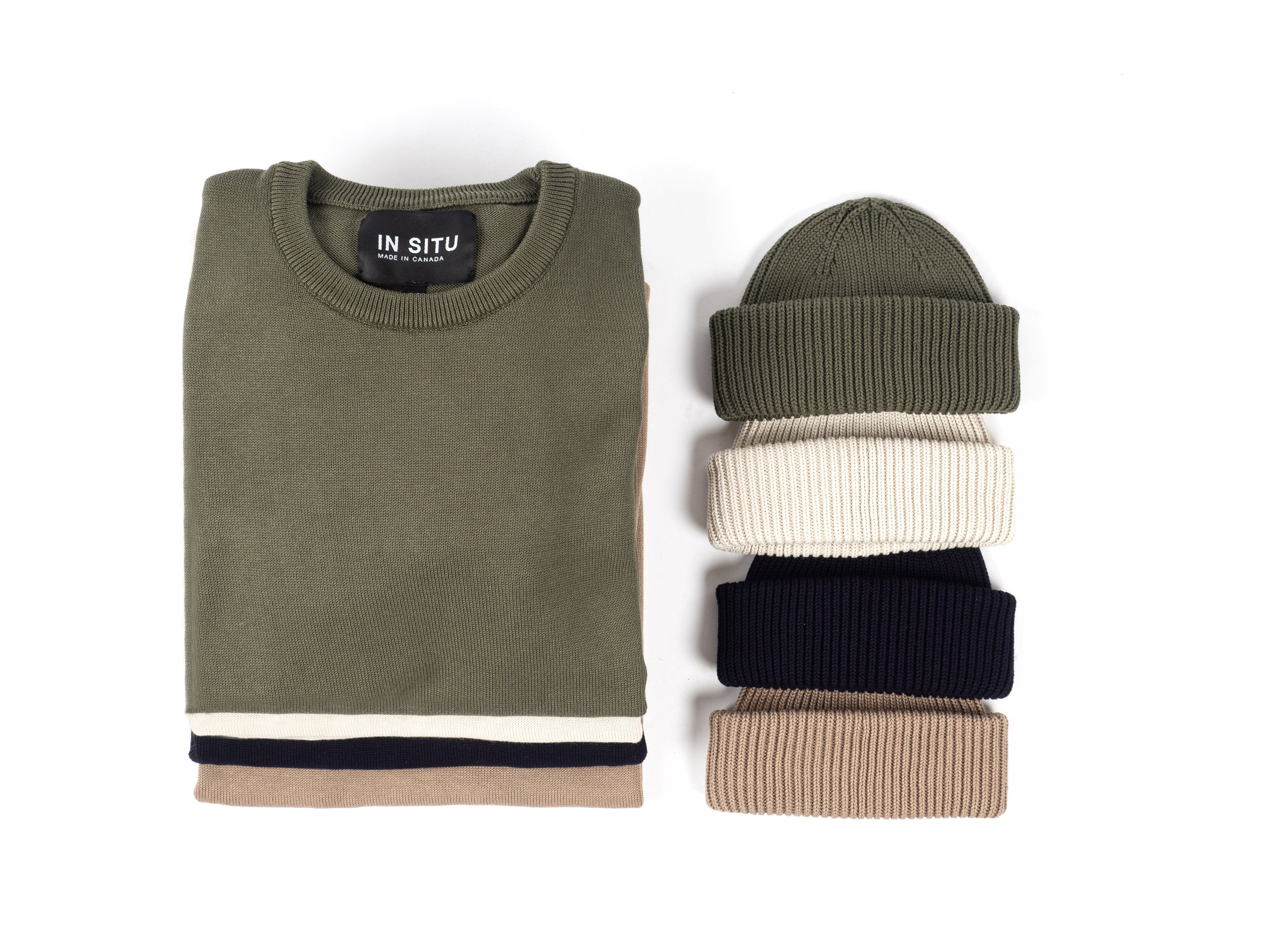 IN SITU Cotton Sweaters and Beanies    VIEW THIS FEATURE