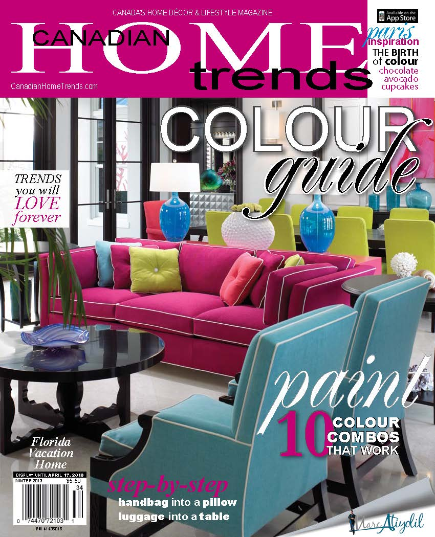 Laura Stein, Canadian Home Trends, design trends