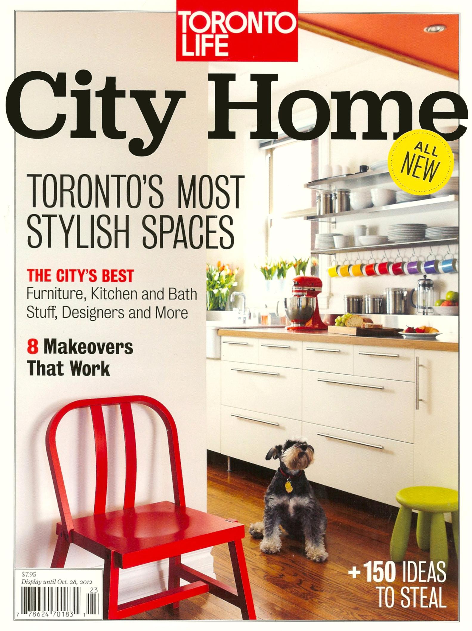 Laura Stein, Toronto Life, Toronto's Best Designers