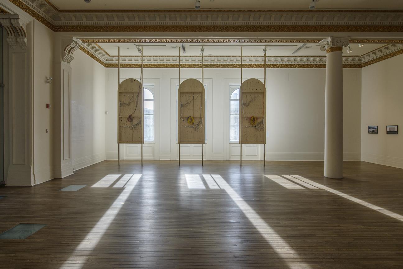 Daylight 11:06 (2015), vue d'installation, Musée des beaux-arts de Sherbrooke. Photo: François Lafrance