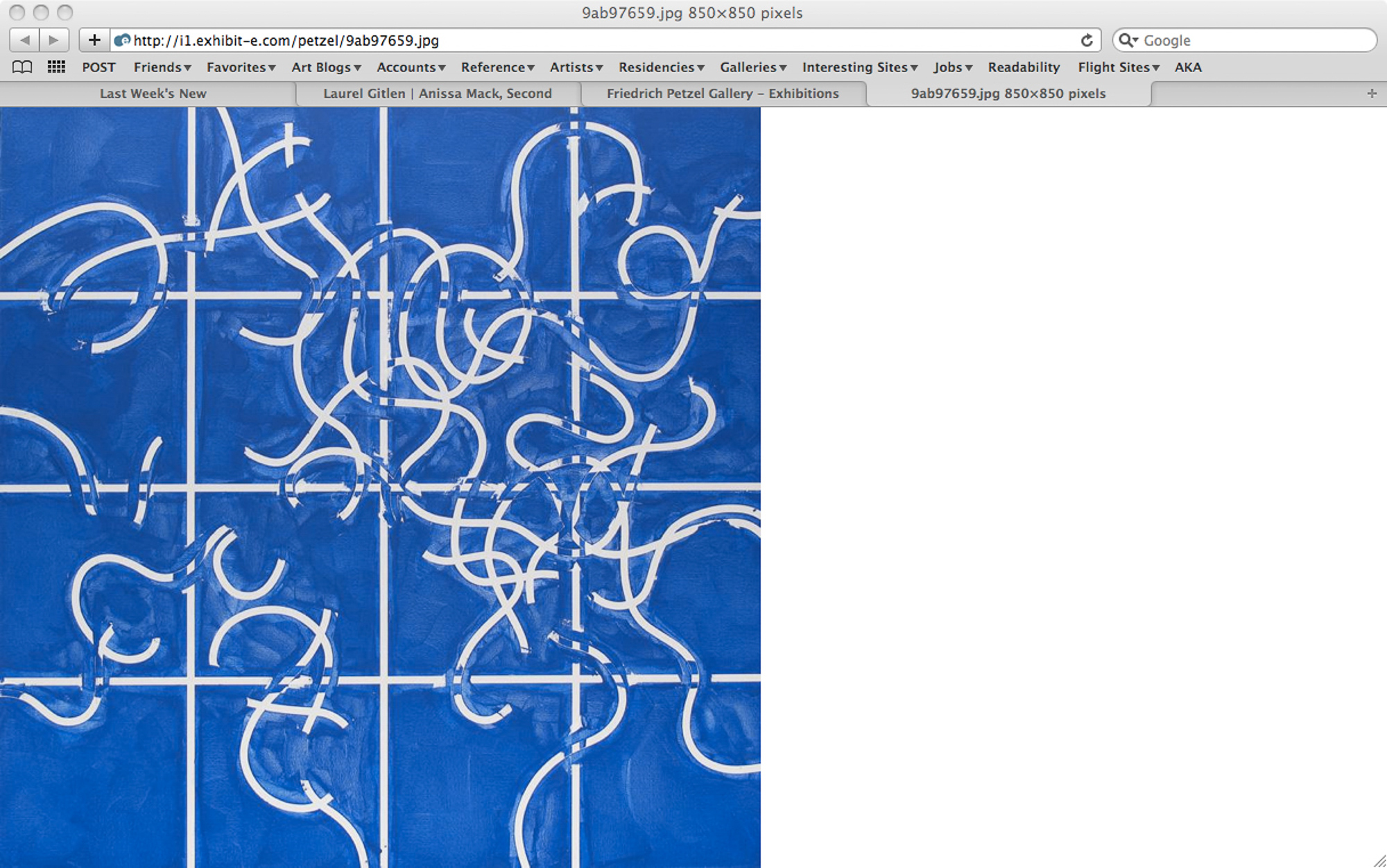 Closings: March 19-27, 2011 (New York, Berlin, Los Angeles, London, Tokyo, Munich, Paris, Madrid) |2011