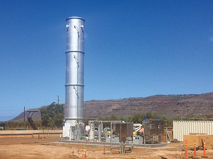 Landfill Gas Collection and Control System Construction Design