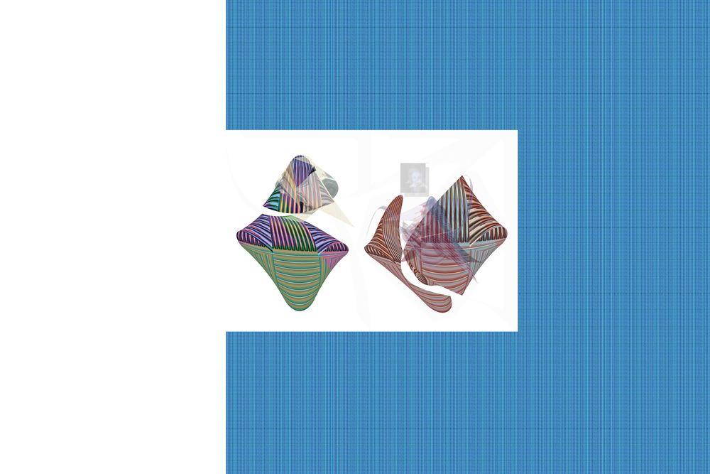 """13 – Untitled Pedigree  2013  Inkjet Print  40"""" X 32"""""""