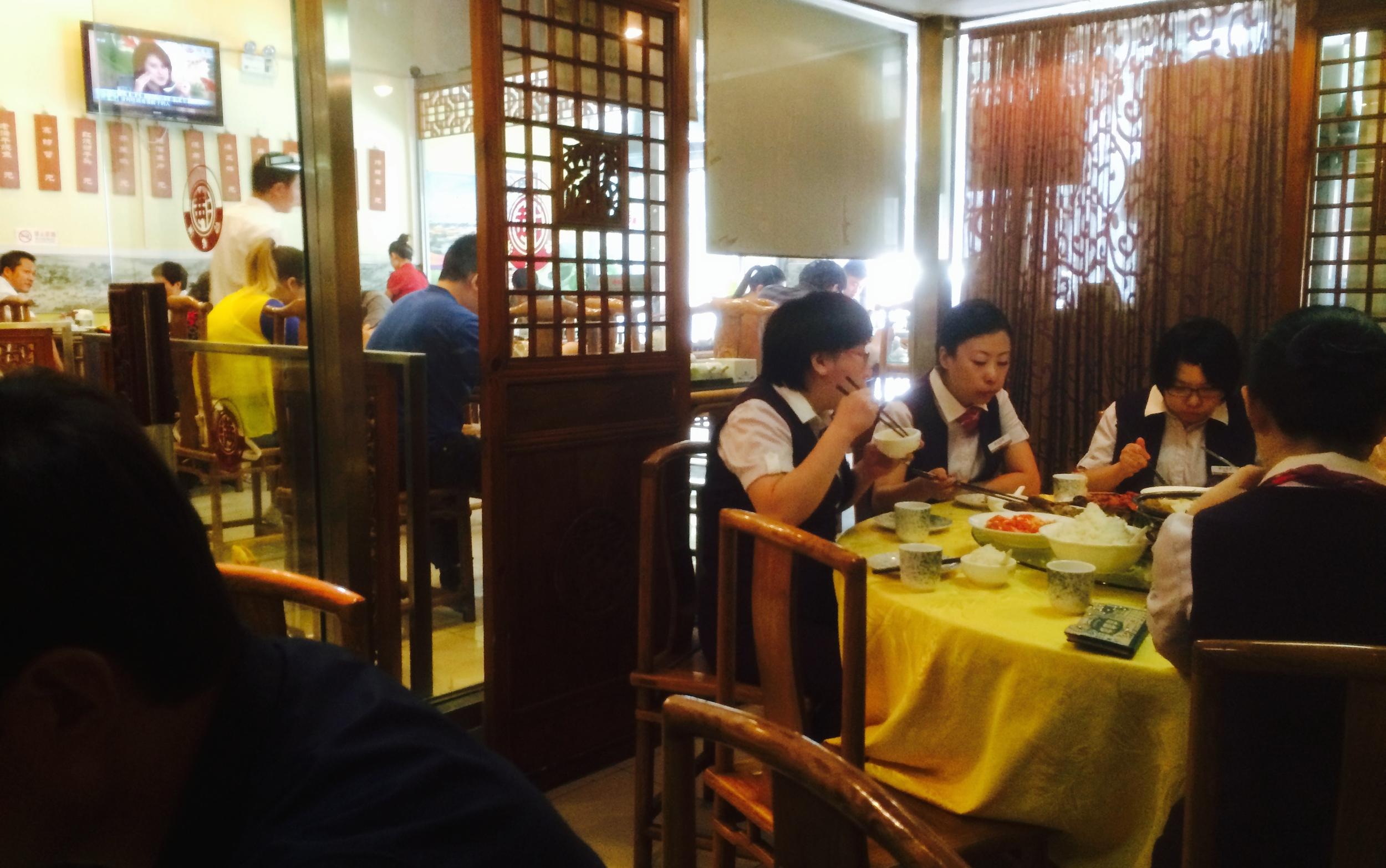 lunch stop for dumplings