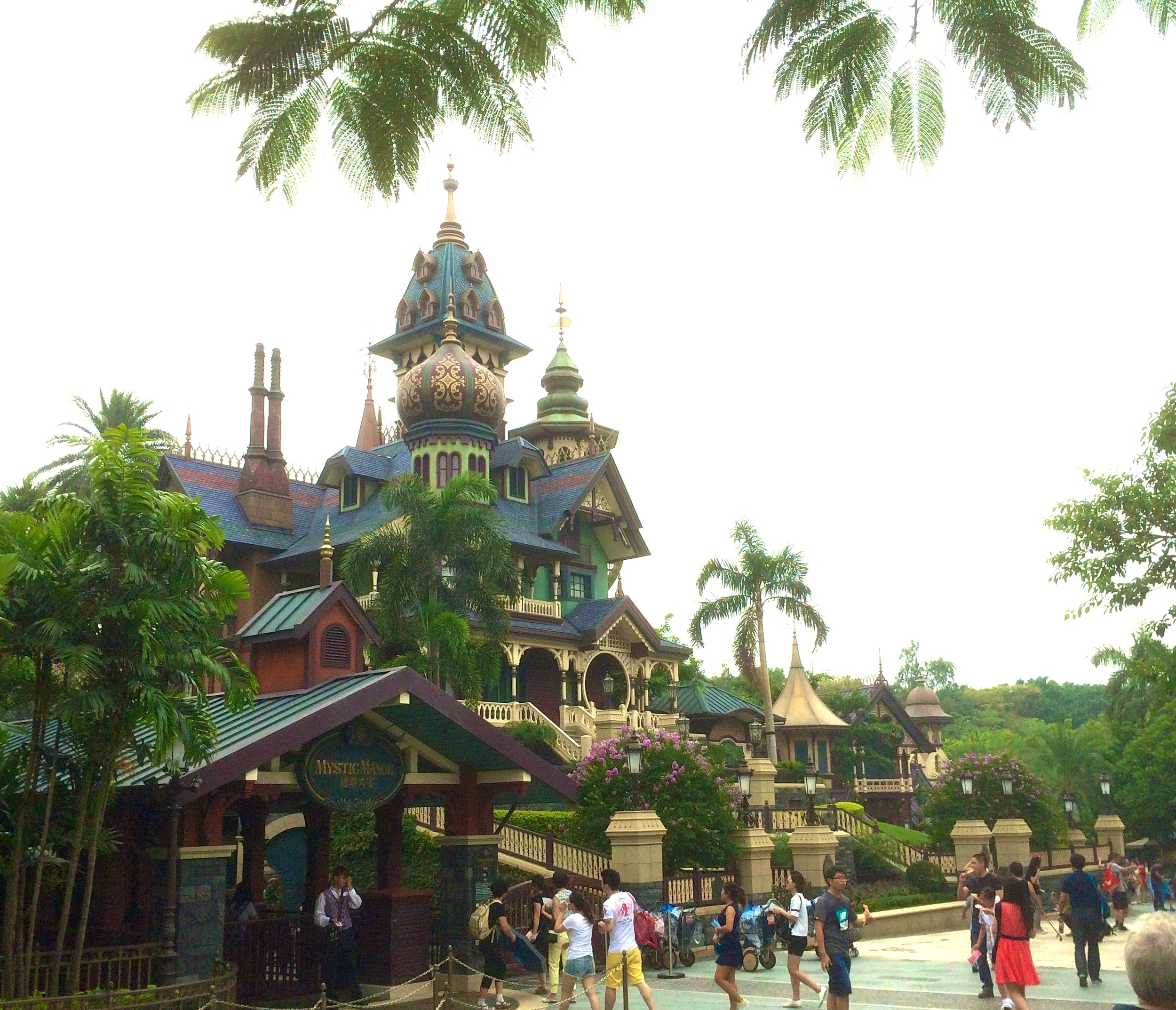 "Mystic Manor.    I was waiting for Mr. Rourke to walk out and say...""Welcome to Fantasy Island"""