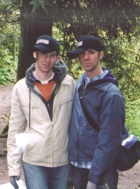 Volunteering with No Ivy League, an invasive species clean up in Forest Park, Portland, 2006.