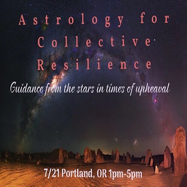 ASTROLOGY FOR COLLECTIVE RESILIENCE tomorrow | a PSA sponsored event with our 2nd-Year graduates @naike.e.swai and @astro_for_my_people. Learn more and register from our link in profile, or @astro_for_my_people.
