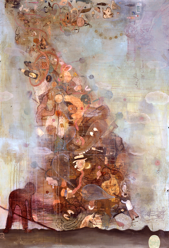 Culture shock 2003 Acrylic on unstretched canvas 2003 108%22x 70%22.jpg
