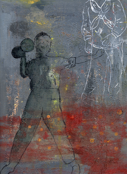 Juegitos de Guerra-Little War Games number 6 acrylic on paper 12 inches by 9 inches 2007 copy.jpg
