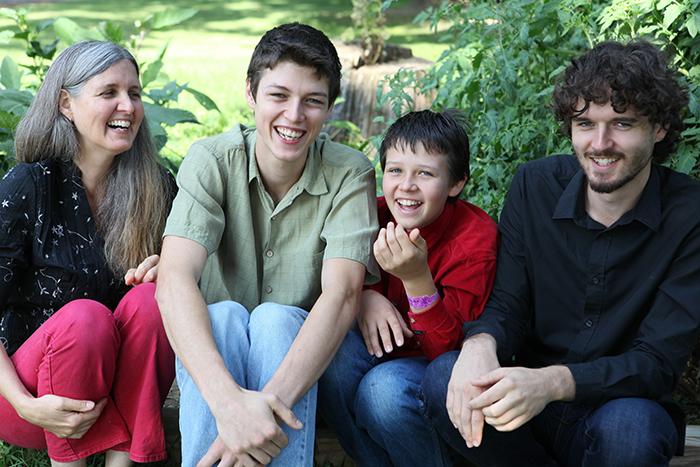 Daniele, Devin, Grayson and Duncan 2012