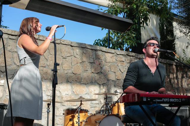 Lauren and Erik Trickett performing at the inaugural ABTG. | Photo by Tatsu Oiye