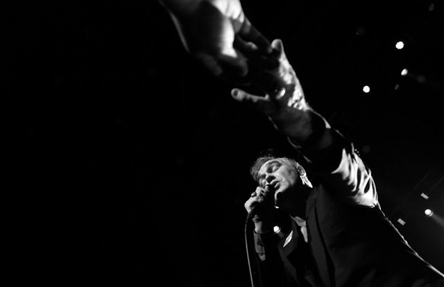 Morrissey at the Los Angeles Sports Arena - May 10, 2014. | Photo by Eugene Lee