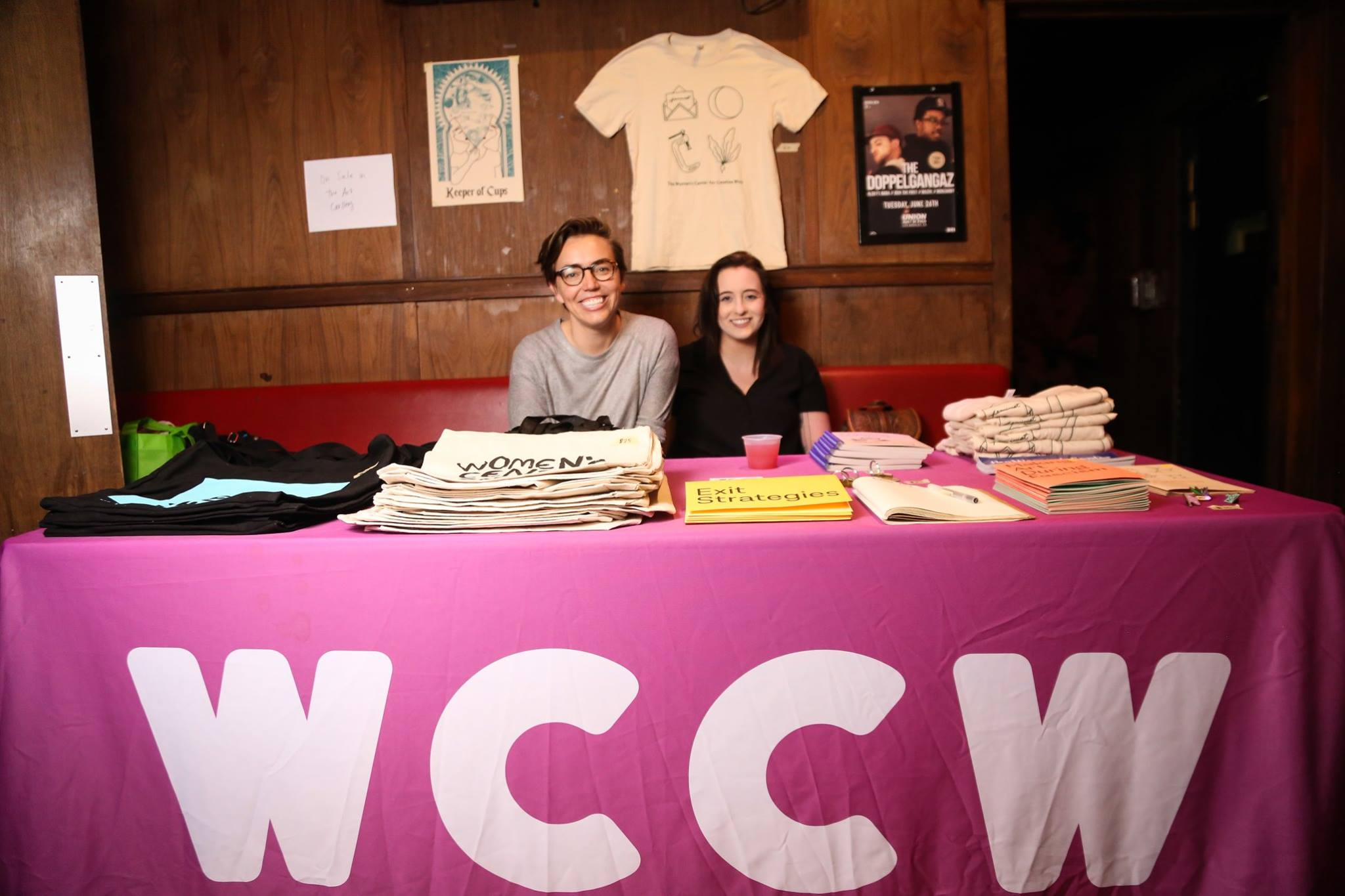 Women's Center for Creative Growth table at ABTG VII | Photo by Eugene Lee