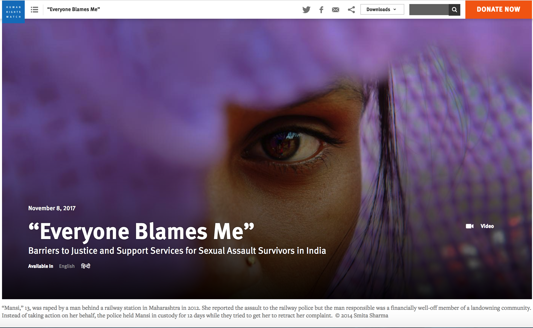 https://www.hrw.org/report/2017/11/08/everyone-blames-me/barriers-justice-and-support-services-sexual-assault-survivors